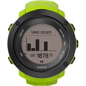 Suunto Ambit3 Vertical HR Watch Lime
